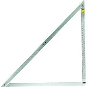 Wickes Aluminium General Purpose Folding Square - 1.2m