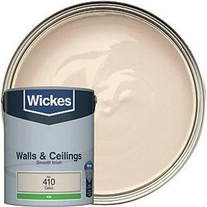 Wickes Calico - No. 410 Vinyl Silk Emulsion Paint - 5l