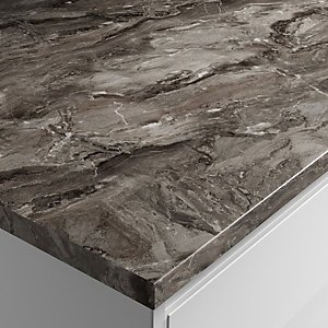Wickes Megara Laminate Bathroom Worktop- 2000 X 337 X 28mm