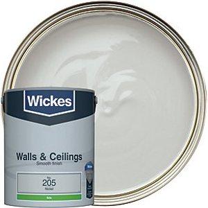 Wickes Nickel - No. 205 Vinyl Silk Emulsion Paint - 5l