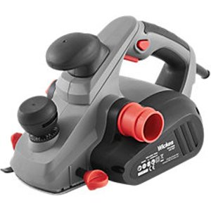 Wickes Powerful Corded 3mm Planer 240v - 850w