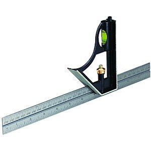 Wickes Steel Combination Square - 12in/300mm