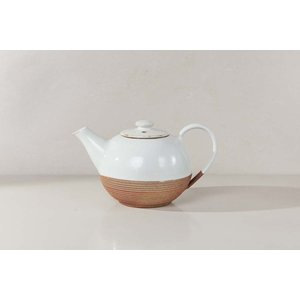 Mali Ribbed Teapot - Whitenkukutableware 19111997735010