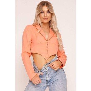 Orange Hook & Eye Shirt - 6 Orange Katch Me