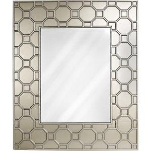 Cimc 126x105 Ritz Geometric Wood Wall Mirror Gold Mr151 L0 Gd