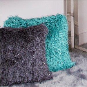 Cimc, Cimc Direct 45x45 Fluffy Cushion Cover Emerald Green Cu567 00 Em F