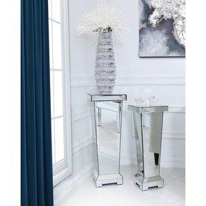 Cimc Direct Classic Mirror Medium Mirrored Display Pedestal Side Table 70cm Gw388 00 Mr