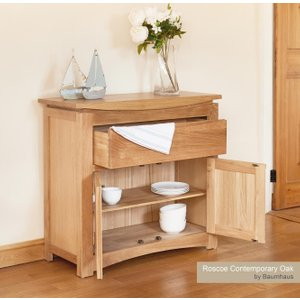 Baumhaus (cresssb) Roscoe Contemporary Oak Small Sideboard Bhs Cns02d