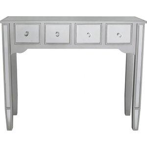 Cimc Laurel Silver Wood And Mirror Console Table / Mirror Mrf266 00 Sv, Mirror
