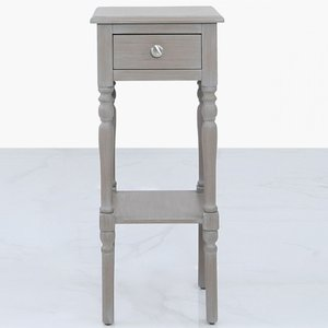 Cimc Darby 1 Drawer Telephone Table Taupe - Ball Handle Wf249 00 Tp
