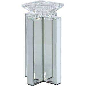 Cimc Glitz & Mirror Pillar Tealight Holder Ch383 S0 Mr