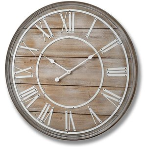 Hill Large Wooden Wall Clock Hil 16343