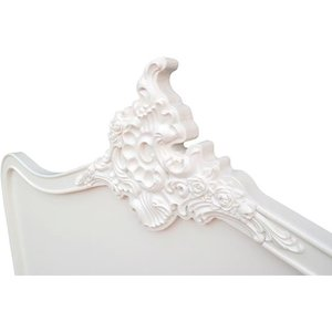Maison Reproductions French Headboard / Cream / Double Fwf24, Cream