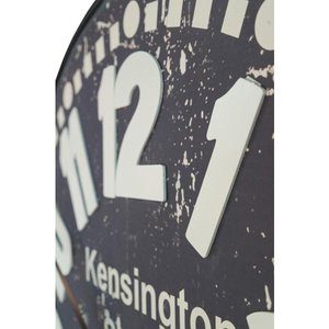 Maison Reproductions Kensington Station With Raised Numeral Wall Clock Cl06