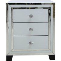 Cimc Manhattan 1 Drawer Console Table White Clear / Clear Mrf119e 00 Whcl, Clear