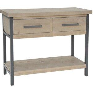 Rowico Lara Console Table Row Low08