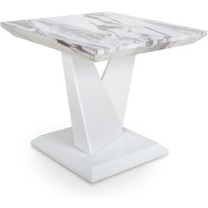 Shankar Saturn Marble Effect Top Lamp Table 923 38 01