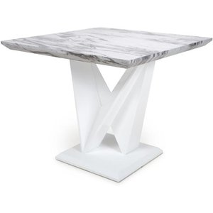 Shankar Saturn Square Marble Effect Top Dining Table 929 38 01