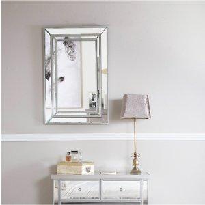 Cimc Victoria Silver Wall Mirror Mr195 00 Sv