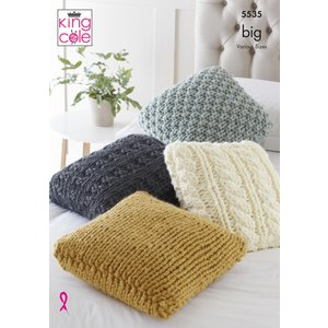 Cushions In King Cole Big Value Big (5535)