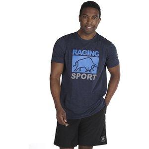 Raging Bull Casual T-shirt - Navy - Navy, L Rbats02/74/116, Navy