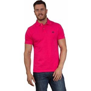 Raging Bull Organic Signature Polo Shirt - Vivid Pink - Pink, L, Classic Rb0pl02/88/116 , Pink