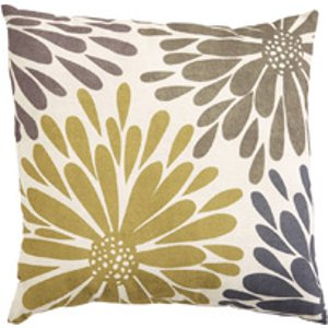 Damart Flower Burst Cushion, Multicolor Print