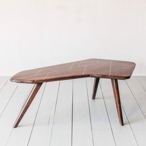 Anton Brass Inlay Coffee Table Mko1011