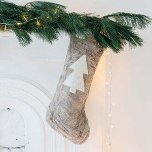 Christmas Tree Felt Stocking Ghd1000