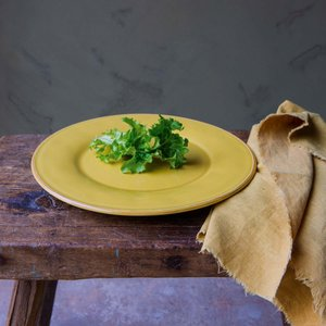 Constance Mustard Dinner Plate Cqg1018