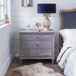 Darien Extra Large Bedside Table Jwf3230
