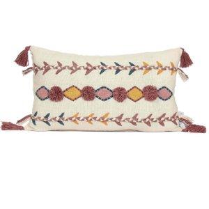 Jaz Rectangular Cushion With Tassels Air1000