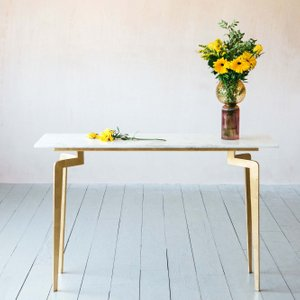 Malique Marble Console Table Acw1002