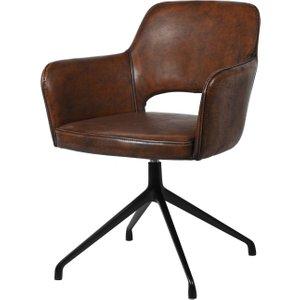 Mercer Brown Swivel Chair Cev1003