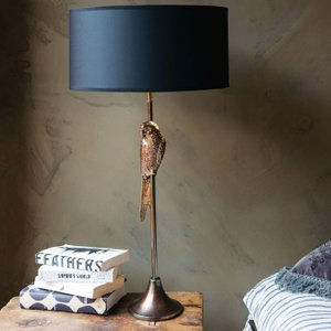 Perching Parrot Table Lamp Lsi1021