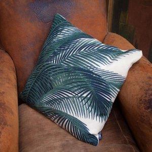 Printed Palm Leaves Cushion Huc1693