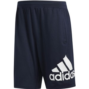 Adidas 4krft Badge Of Sport 9in Shorts Men Dark Blue Dq2855 Fitness, dark_blue