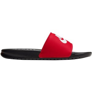 Nike Benassi Just Do It Slippers Men Red 343880 026 Fitness Equipment, red