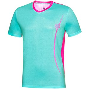 Bidi Badu Dan Tech V-neck T-shirt Men Mint 001081 Icblpk Fitness, mint