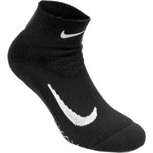 Nike Elite Cushion Quarter Running Socks Black Sx5463 010 Fitness, black