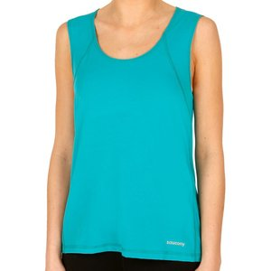 Saucony Freedom Tank Top Women Turquoise Sa81532 Bar Fitness, turquoise