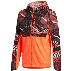 Adidas Own The Running Jacket Men Orange Fl6988 Fitness, orange