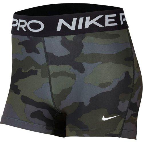 Nike Pro Camo 3in Ball Shorts Women Khaki Cu4636 082 Fitness, khaki