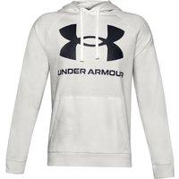 Under Armour Rival Big Logo Hoody Men Cream 1357093 112 Fitness, cream