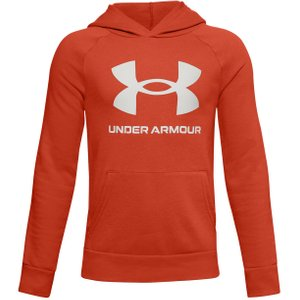 Under Armour Rival Hoody Men Orange 1357585 830 Fitness, orange