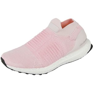 Adidas Ultra Boost Laceless Neutral Running Shoe Women Pink B75856 Fitness Equipment, pink