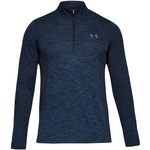 Under Armour Vanish Seamless Half-zip Long Sleeve Men Dark Blue 1325632 408 Fitness, dark_blue