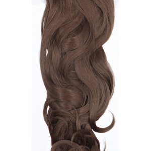 Femmeluxe Chestnut 20 Synthetic Curly Hair Extensions Clip In Piece - Dion Oschthe7224 Womens Clothing