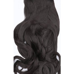 Femmeluxe Coffee Brown 20 Synthetic Curly Hair Extensions Clip In Piece - Dion Oscffhe7225 Womens Clothing, brown