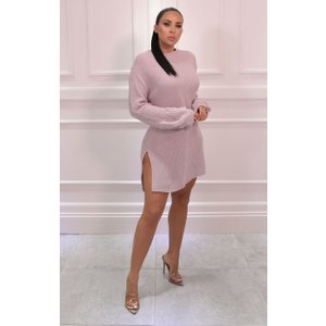 Femmeluxe Nude Oversized Bloom Sleeve Knitted Jumper - Roisin Mndkw5773 Womens Clothing, nude
